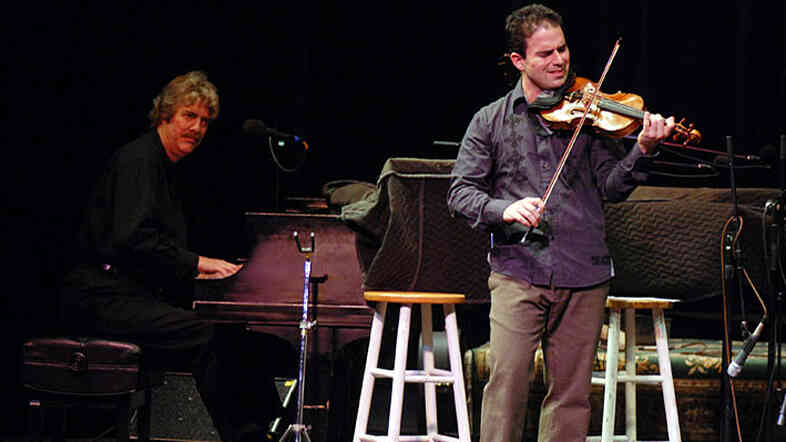 Randy Morris (left) and Adam DeGraff are Pianafiddle.