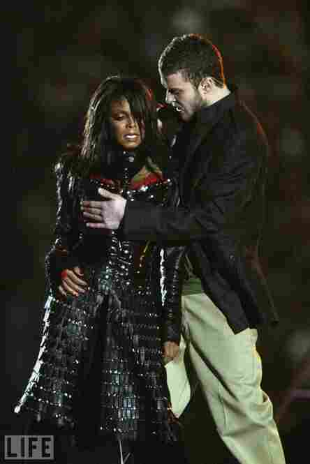 Perhaps one of the most memorable sporting events was the 2004 Super Bowl in 2004. Actually — not for the game itself, but the halftime show, in which Justin Timberlake tore off part of Janet Jackson's top.