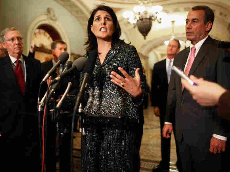 South Carolina Governor-elect Nikki Haley