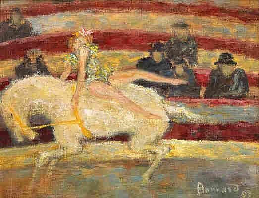 Pierre Bonnard's The Circus Rider