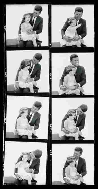 John F. Kennedy and his daughter, Caroline