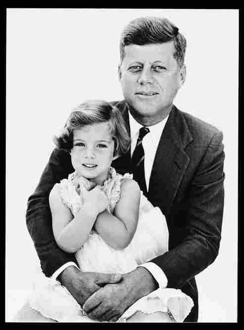 John F. Kennedy and Caroline