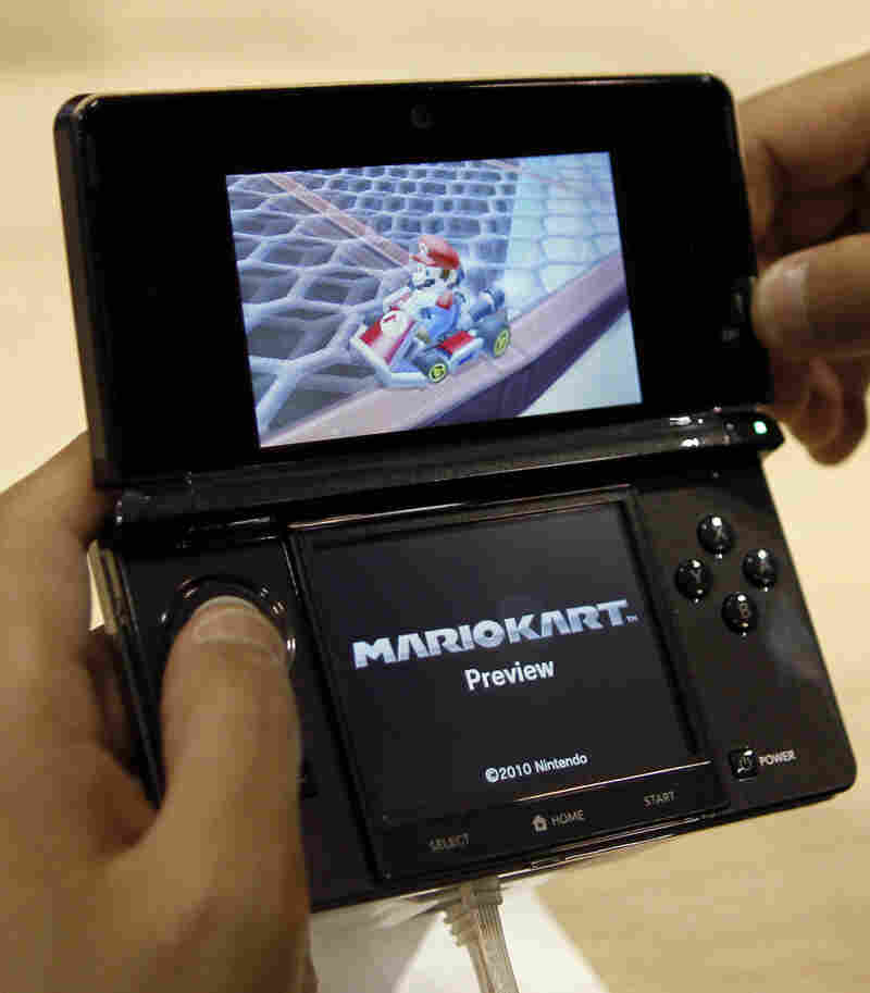 The Nintendo 3DS offers 3-D imagery without 3-D glasses. But scientists warn that if young children use the device in 3-D mode, it could be harmful to their vision.