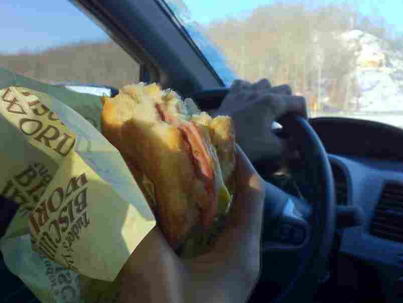 REMEMBER: Always keep your hands at 10 and Sandwich.