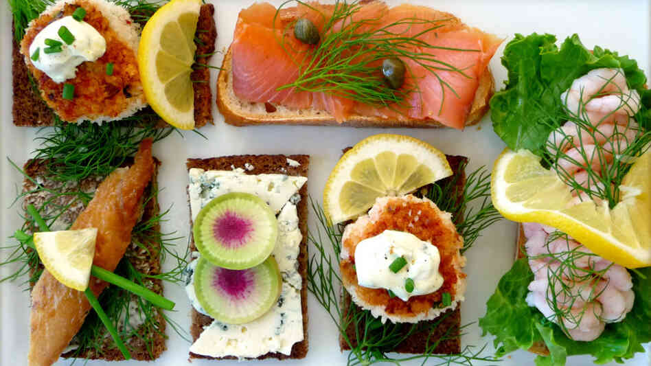 ... Window: The Art Of The Danish Open-Face Sandwich, Or Smorrebrod : NPR