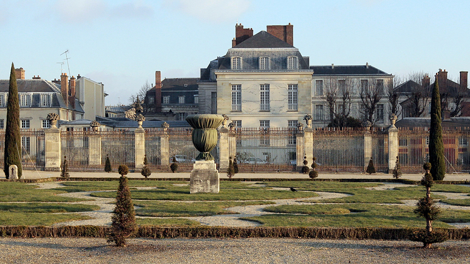 The Palace of Versailles, west of Paris, will have its Hotel du Grand Controle, the traditional home of the chateau's treasurers, converted into a luxury hotel as part of a plan to pay for renovations at some of France's historic buildings. (AFP/Getty Images)