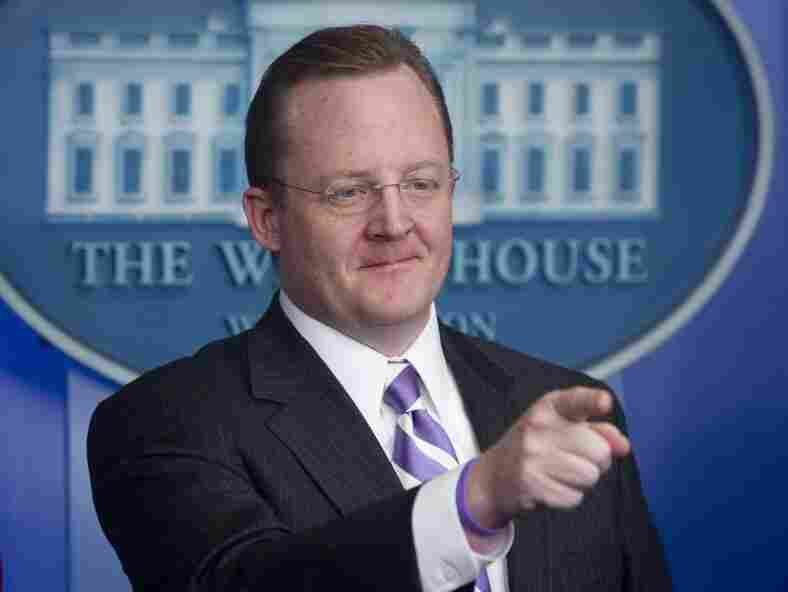 White House Press Secretary Robert Gibbs on Dec. 16, 2010.