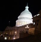 The US Capitol before the 112 Congress convenes.