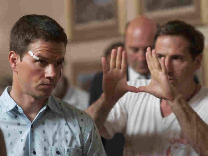 Mark Wahlberg (left) plays boxer Micky Ward in David O. Russell's 'The Fighter.'