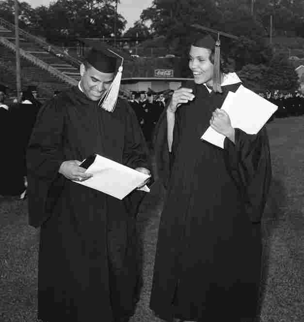 This was the moment that made the long, often bumpy road we walked as the University of Georgia's first two black students worth it. And I was so proud of Hamp who, despite the stress, graduated Phi Beta Kappa.