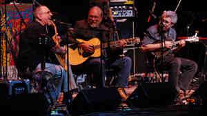 David Bromberg, Jorma Kaukonen and Barry Mitterhoff perform on Mountain Stage.