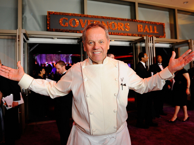 Wolfgang Puck contributes leftovers from his post-Oscars Governors Ball gala to Angel Harvest, a nonprofit that delivers edible leftovers from businesses to places like shelters, food pantries and soup kitchens.