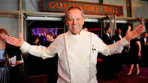 Wolfgang Puck contributes leftovers from his post-Oscars Governors Ball gala to Angel Harvest, a nonprofit that delivers edible leftovers from businesses to places like shelters and food pantries.