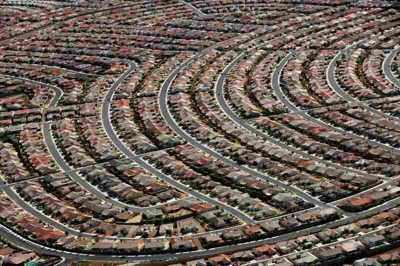 A new house went up every 20 minutes during the 2004 building boom that seized Las Vegas and its sprawling suburbs, like Henderson.