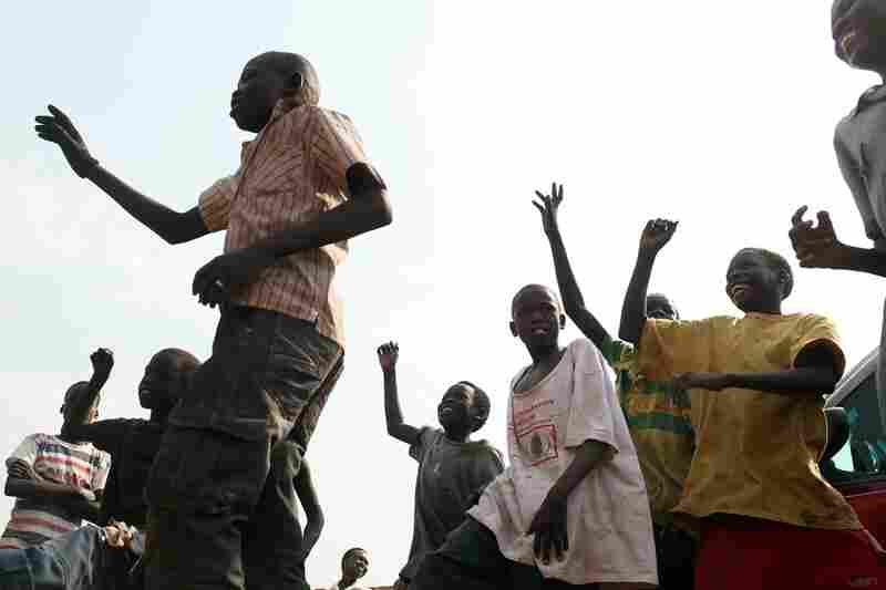 Young Sudanese in Juba participate in a rally in support of independence. A historic 2005 peace treaty brought an end to decades of civil war between the Arab north and predominantly Christian south that killed more than 2 million people.