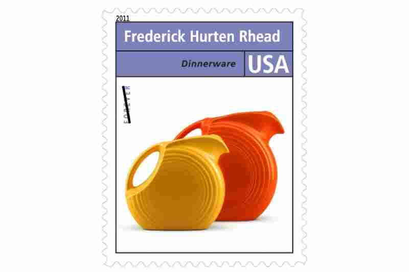 """""""Frederick Hurten Rhead helped pioneer the design of mass-produced ceramic tableware for the home. He is best remembered for the sleek 'Fiesta' line introduced by The Homer Laughlin China Company in 1936."""""""