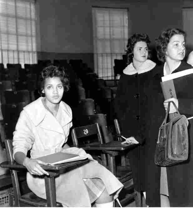 """My first day of class at the Henry W. Grady School of Journalism, where I had no intention of letting anybody stand in the way of fulfilling my dream of becoming the next """"Brenda Starr."""""""