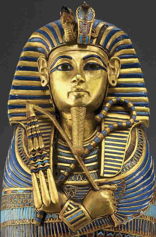Caponic coffinette of Tutankhamen