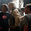 Joel Coen, Jeff Bridges and Ethan Coen on the set of 'True Grit.'