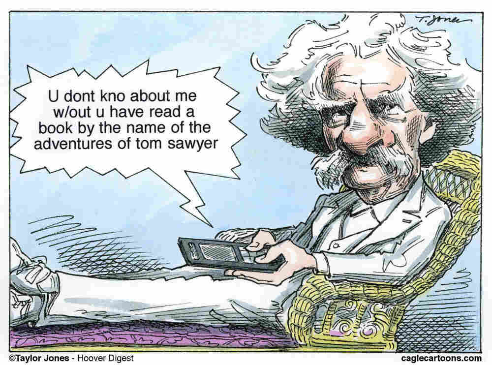 Would Mark Twain have tweeted