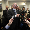 California Gov. Jerry Brown, seen here Jan. 4, will unveil a new state budget Monday.