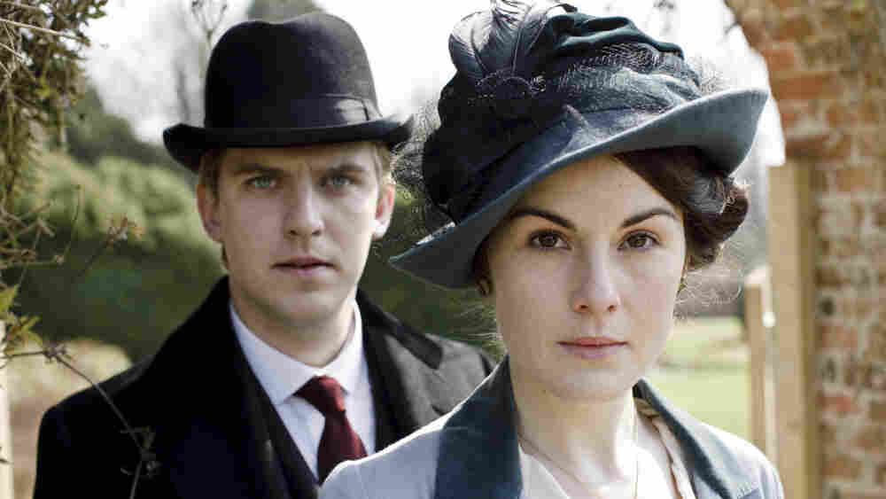 Dan Stevens (Matthew Crawley) and Michelle Dockery (Lady Mary Crawley) wear a variety of fabulous hats in Downton Abbey, which begins airing Sunday night on PBS's Masterpiece Classic.