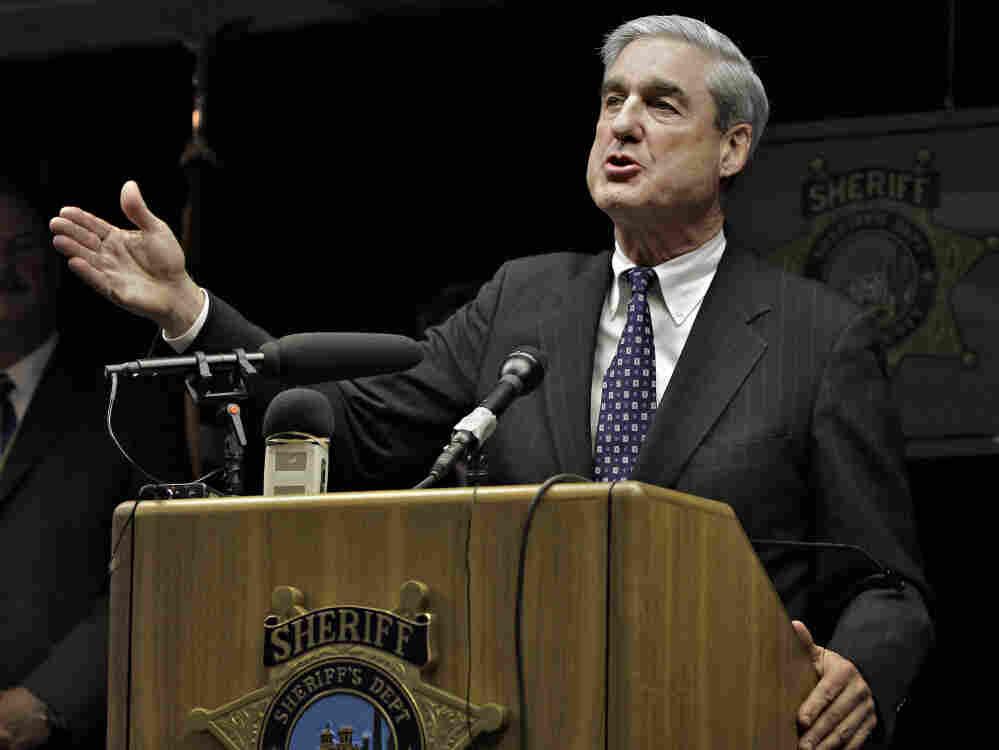 FBI Director Robert S. Mueller III at the Pima County Sheriff's Office Sunday, Jan. 9, 2011 in Tucson, Ariz.