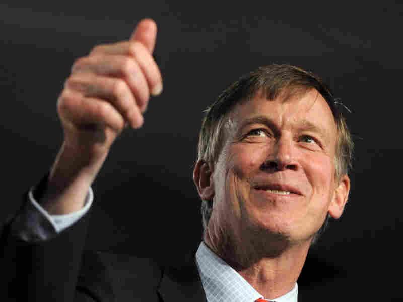Democratic Colorado Gov. John Hickenlooper