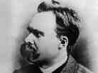 German existentialist philosopher Friedrich Nietzsche is seen in an undated photo.