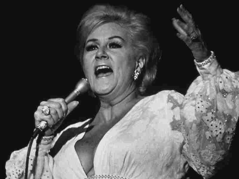 Margaret Whiting performing onstage in New York City in 1987.