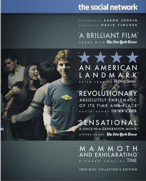 The Social Network arrives on DVD this week.