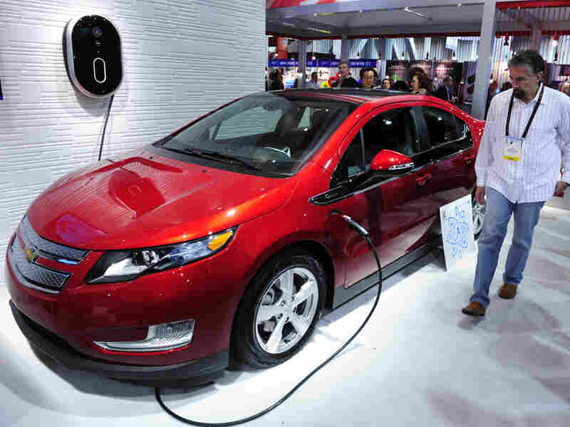 The Chevrolet Volt was named the North American Car of the Year.