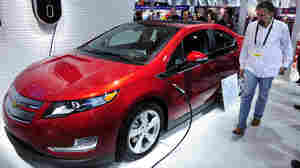 Electric Cars Steal The Spotlight At Auto Show