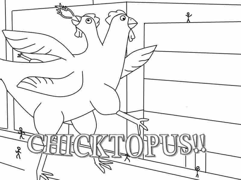 """""""Chicktopus!!"""" by Ben Mitchell."""
