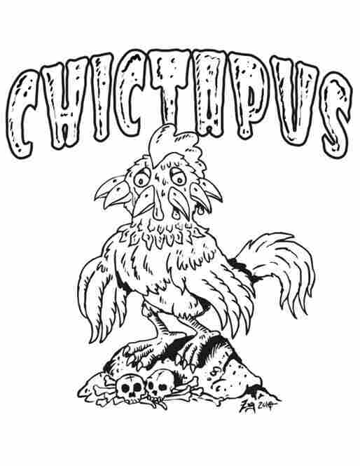 """""""Chictapus"""" by Mike Zug."""