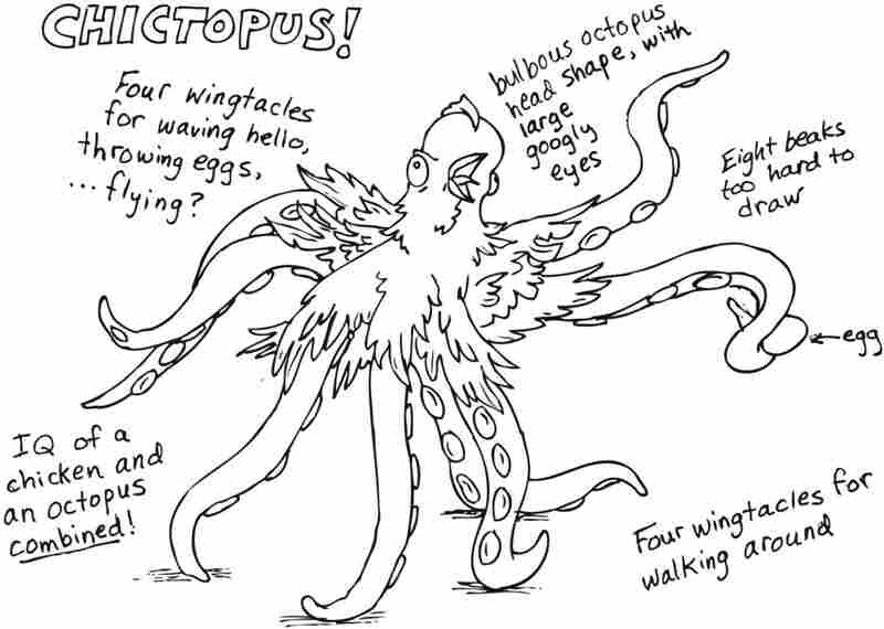 """""""Chictopus!"""" by Bess Ghormley."""
