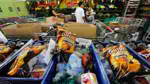 Overburdened Food Banks Can't Say No To Junk