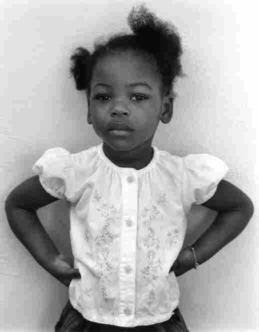 Fara Auguste, Miami, Florida, 2003. Fara was held in detention three months with her mother before being released.