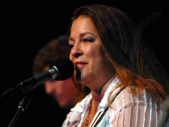 Carlene Carter performed on Mountain Stage.