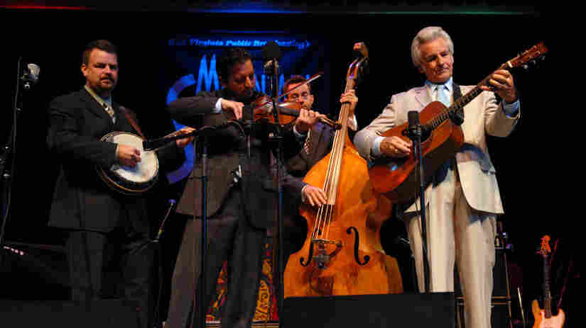 The Del McCoury Band performed on Mountain Stage.