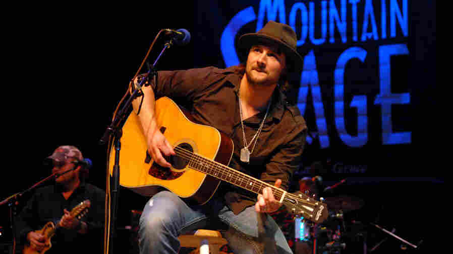 Eric Church performed on Mountain Stage.