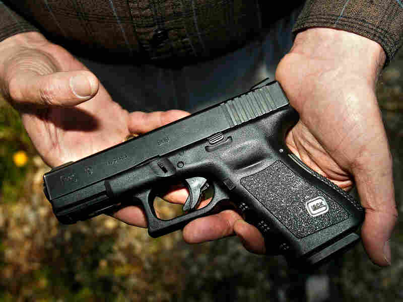 A file photo of a Glock 19, the type of weapon that authorities say was used in the Jan. 8 shootings