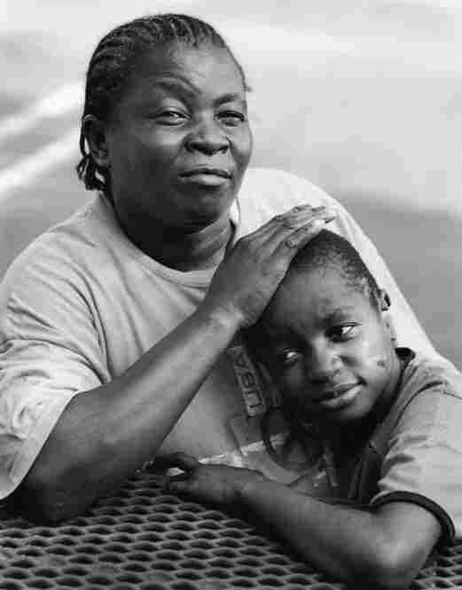 Amenise Jean-Baptiste with her son Peterson Exais, Miami, Florida, 2010