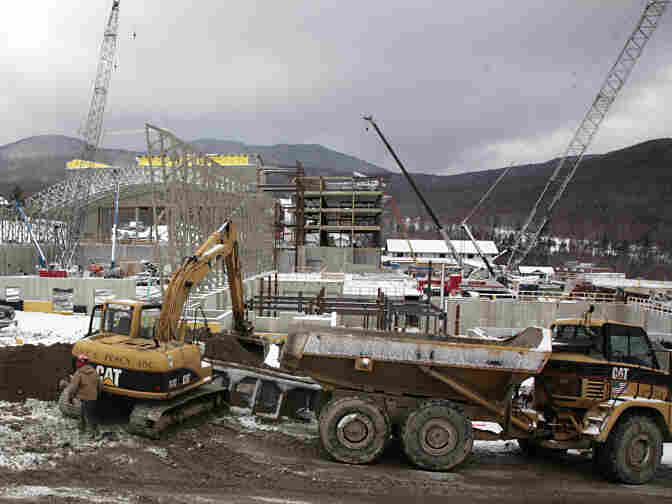 Construction of a water park at Jay Peak resort in northern Vermont is funded by foreign investors who supplied at least $500,000 in exchange for a green card.