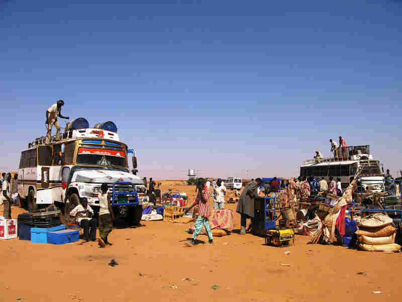 Southerners living in  Jabarona, many of them Christian, pack up to head back to their homeland in the  south. Many say they can't stay for fear of a backlash by the Sudanese  government and its security forces after the referendum.