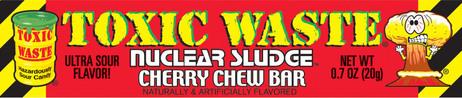 Toxic sludge chew bar