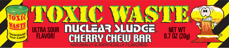 Toxic sludge chew bar