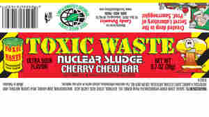Too Much Lead Prompts Recall Of 'Toxic Waste Nuclear Sludge' Candy Bars