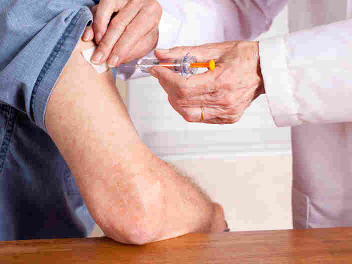 A vaccine can help people over 60 avoid shingles, butonly about 10 percent of the 50 million people who should get it actually have.