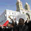 Tunisia Shaken By Protests As New Government Forms